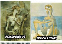 Enlace a ¿Qué diantres le pasó a Picasso?