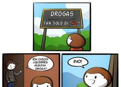 Enlace a Di NO a las drogas