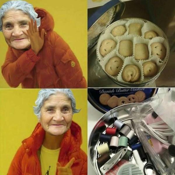 Meme_otros - Las abuelas saben lo que es bueno