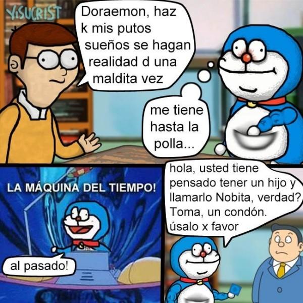 Meme_otros - Un final digno para Doraemon