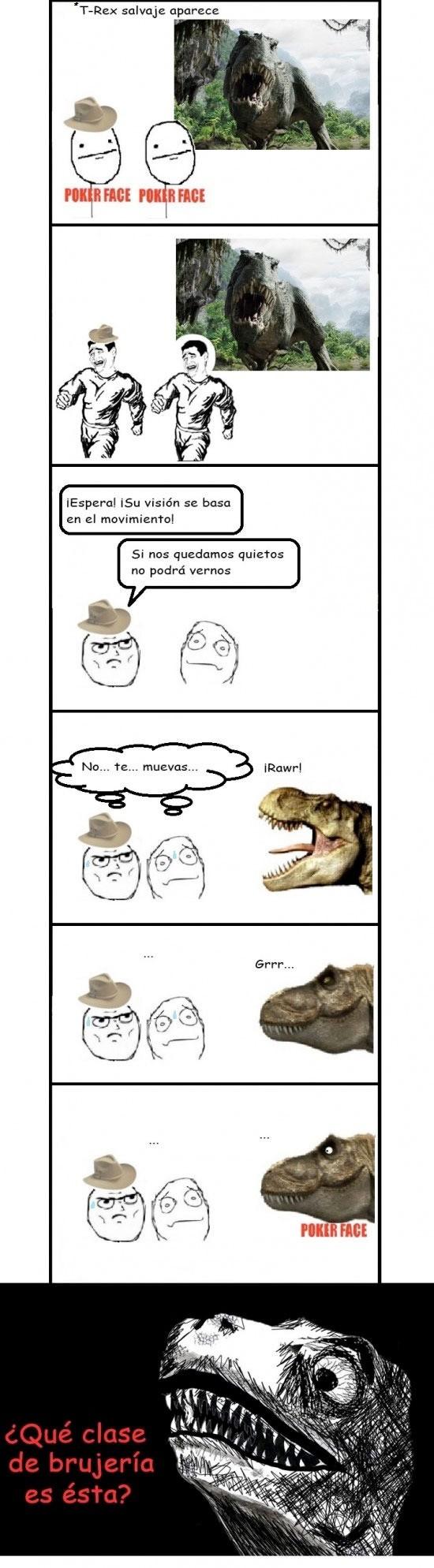 Inglip - T-Rex y su punto débil