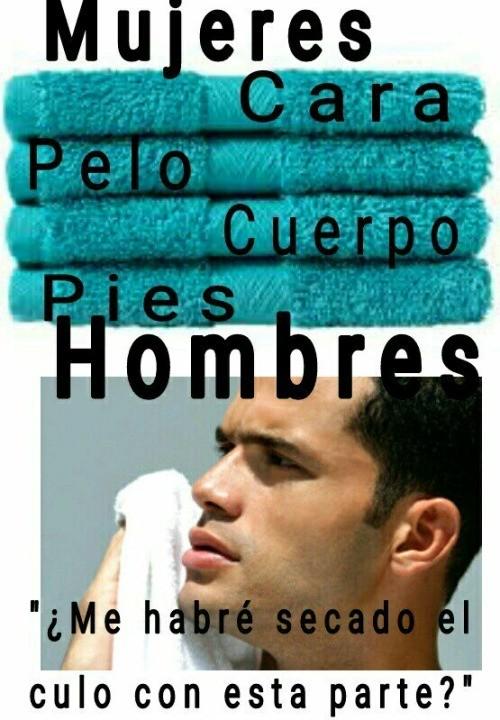 Meme_otros - Las toallas y su uso