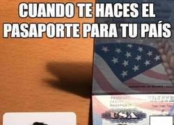 Enlace a Un error en el pasaporte