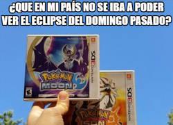 Enlace a ¡Este fue un verdadero eclipse!