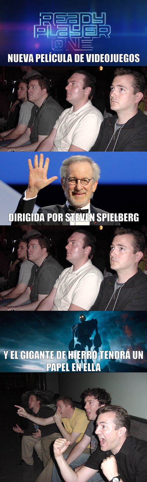 Meme_otros - Se ve interesante el nuevo proyecto de Spielberg