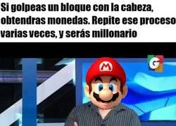 Enlace a Mario Bros, el experto en todo