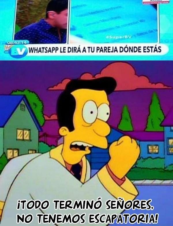 Meme_otros - Whatsapp anuncia el fin de los tiempos