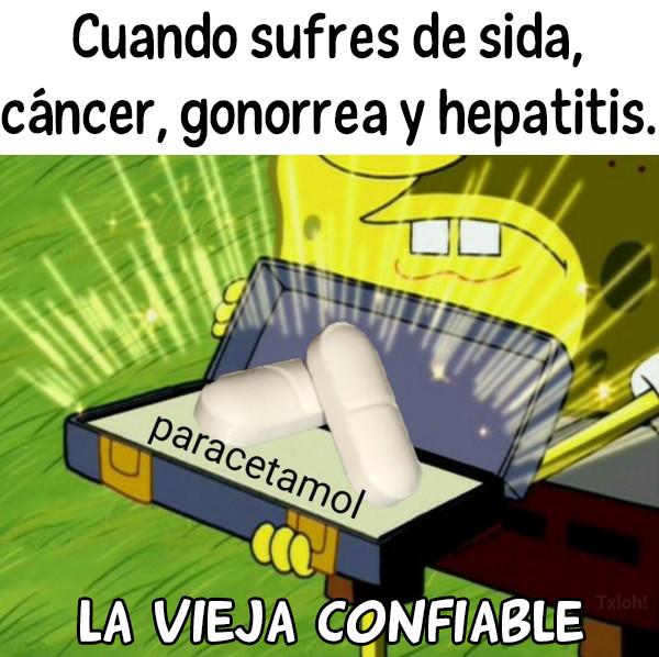 Meme_otros - Paracetamol puede con todo