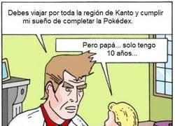 Enlace a Cuando tu padre es un fanático de Pokémon
