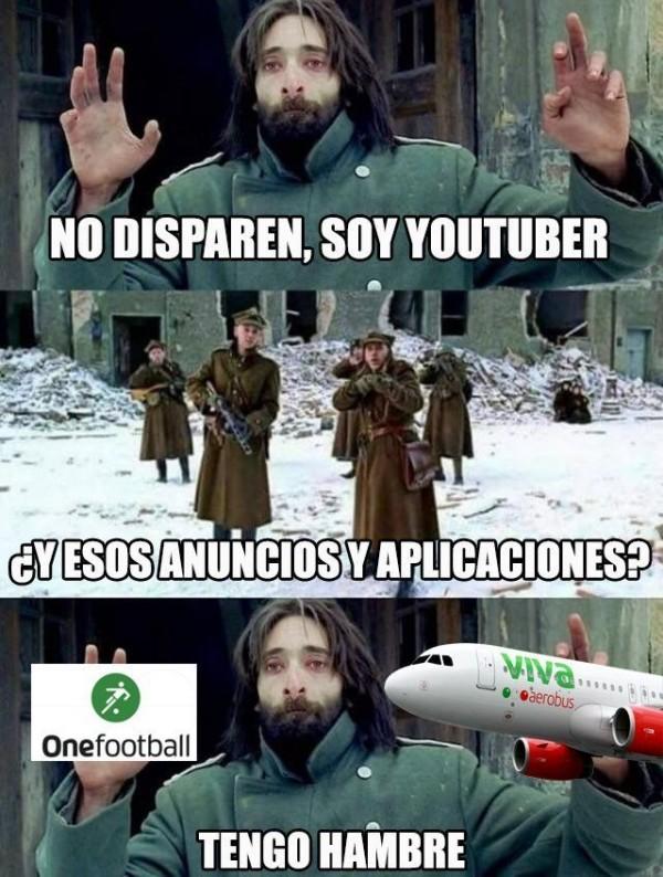 Meme_otros - Cuando los youtubers se mueren de hambre