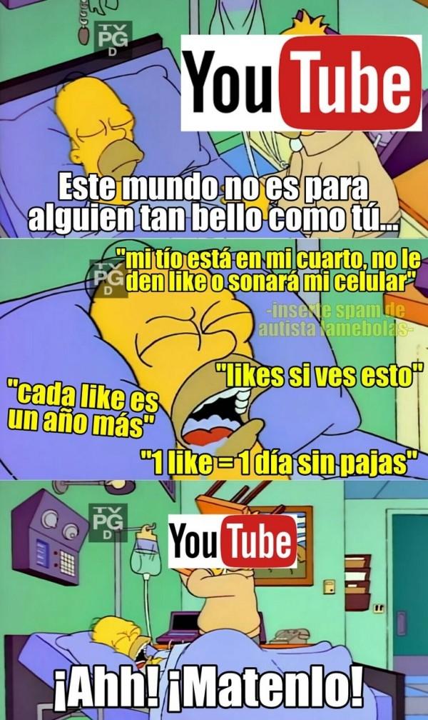 Meme_otros - La gente que comenta en youtube lleva la estupidez a otro nivel