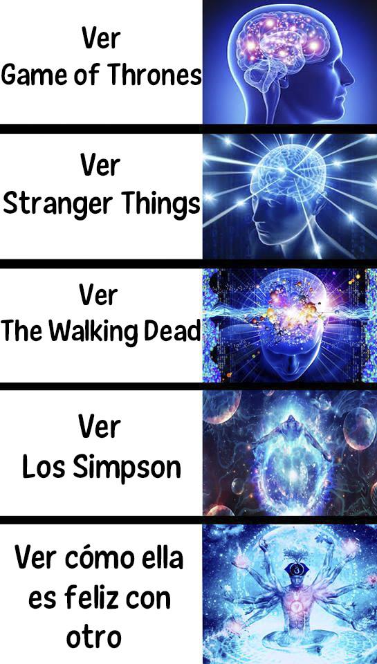 Meme_otros - La expansión del cerebro según lo que ves
