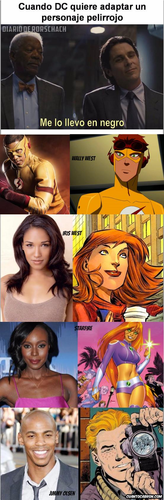 Otros - DC y los actores pelirrojos