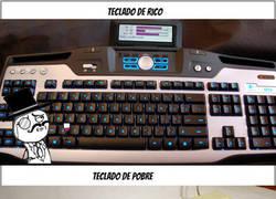 Enlace a Diferentes tipos de teclado