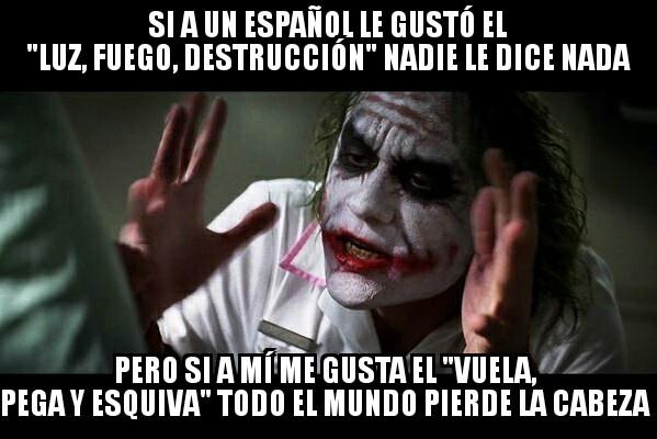 Joker - Así es muy sencillo burlarse de los doblajes