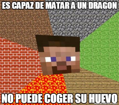 Minecraft - Incoherencias de Minecraft