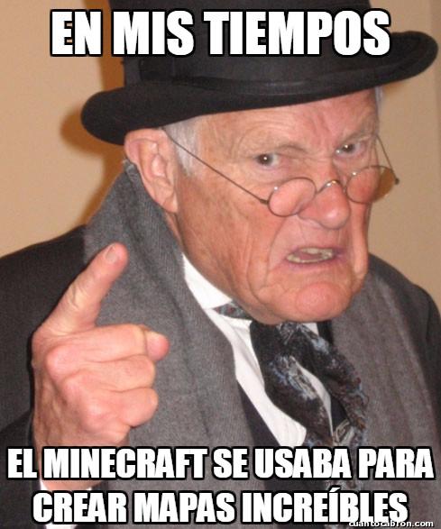 En_mis_tiempos - Minecraft y el paso del tiempo