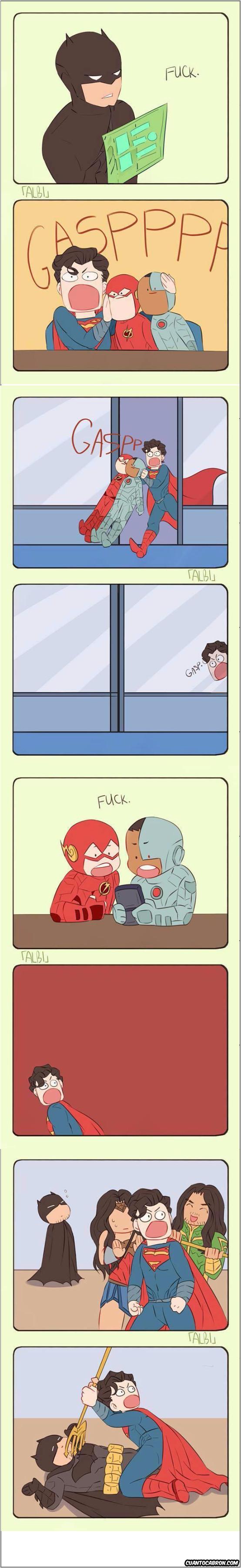 Otros - ¡A Superman no le gustan las malas palabras!