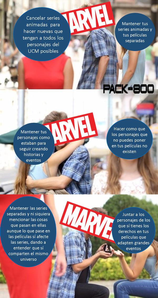 Meme_otros - Las decisiones de Marvel