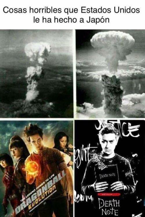 Meme_otros - Estados Unidos no tiene piedad con Japón