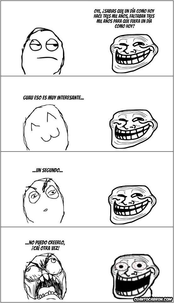 Trollface - Cuando tienes un amigo Troll.