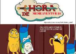 Enlace a Hora de memeaventuras - The floor is lava