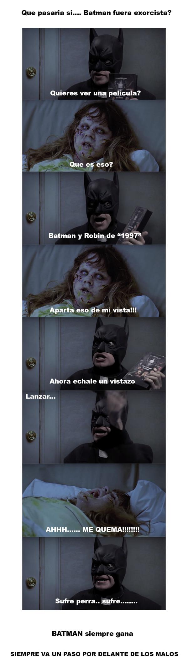 Meme_otros - Batman es el mejor en su trabajo