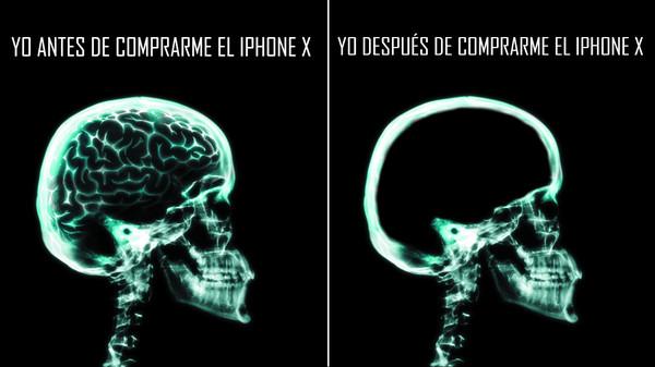Meme_otros - iPhone X y su precio