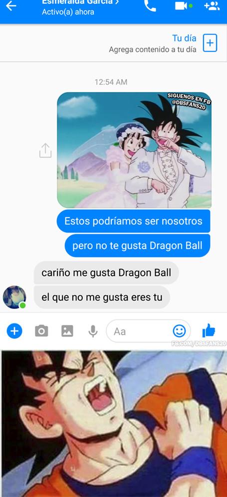 Meme_otros - La forma más cruel de rechazar a alguien usando Dragon Ball