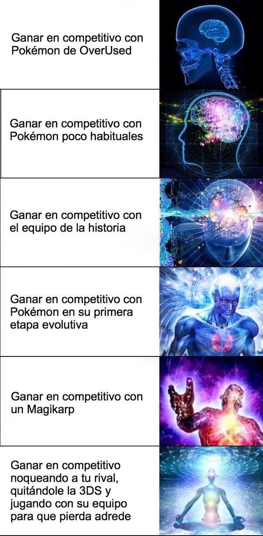 Otros - Las diferentes maneras de ganar en Pokémon competitivo