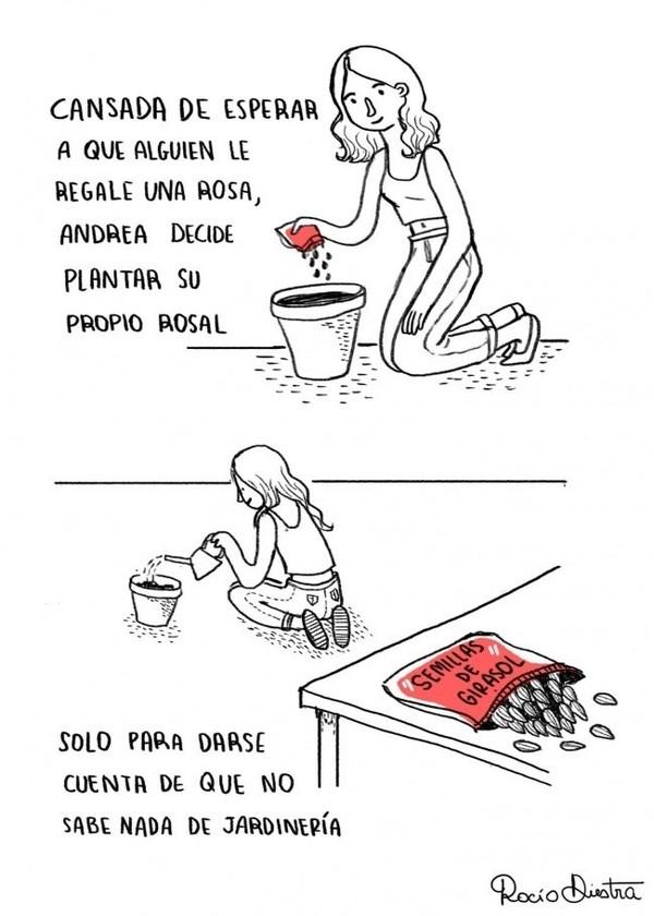 Otros - El problema de plantar flores