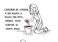 Enlace a El problema de plantar flores