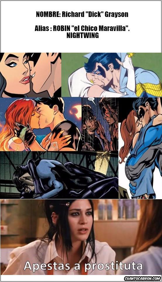 Otros - Nightwing: gígolo profesional