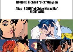 Enlace a Nightwing: gígolo profesional