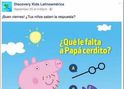 Enlace a Peppa Pig: Arruinando mentes desde 2010