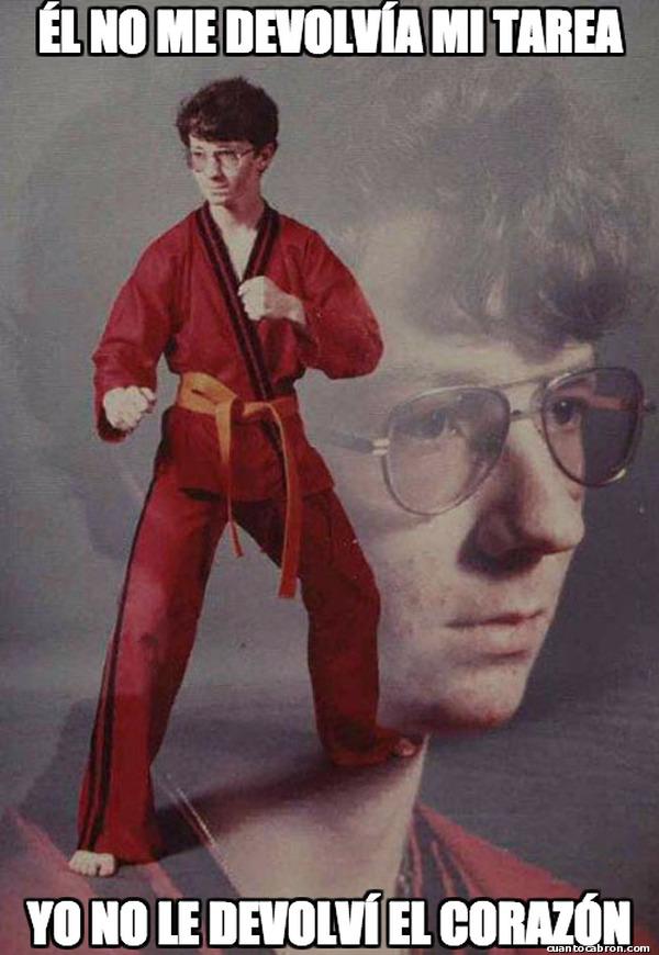 Karate_kyle - Lo pensaran 2 veces antes de robarle otra vez