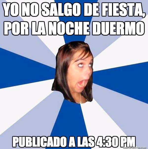 Amiga_facebook_molesta - La hipocresía
