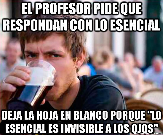 Universitario_experimentado - Examen de Filosofía