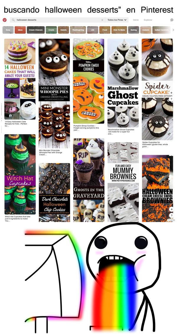 Puke_rainbows - Las comidas de Halloween se ven muy deliciosas