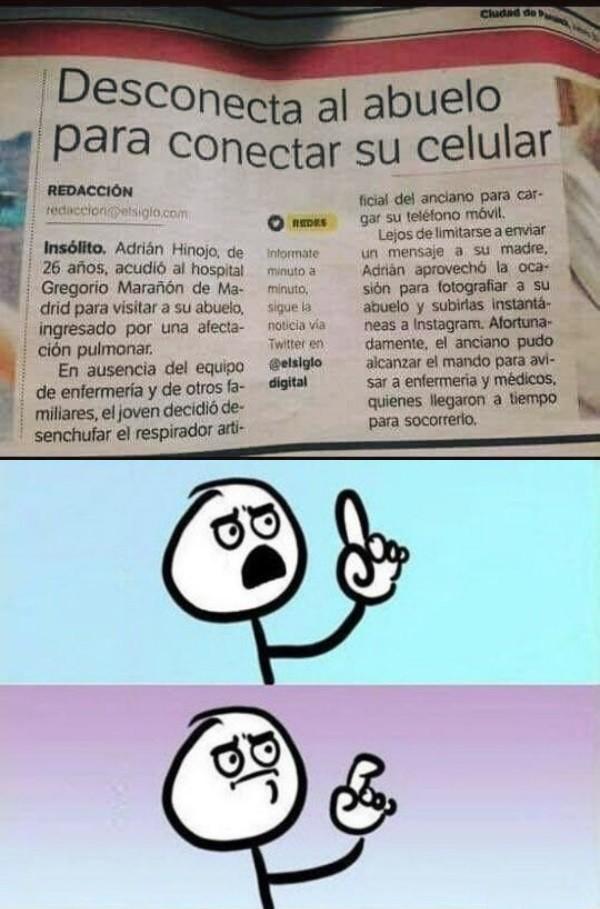 Meme_otros - Una noticia inquietante