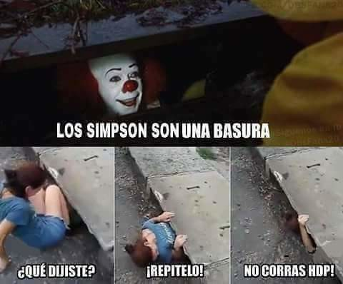 Meme_otros - Con Los Simpson nadie se mete