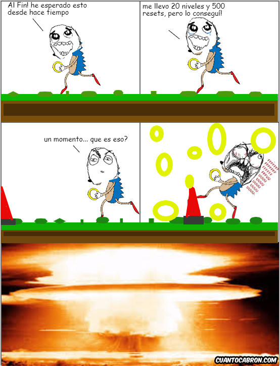 Sonic - No es tu día Sonic :(