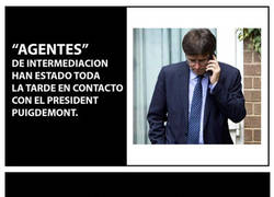 Enlace a Agentes mediadores Puigdemont