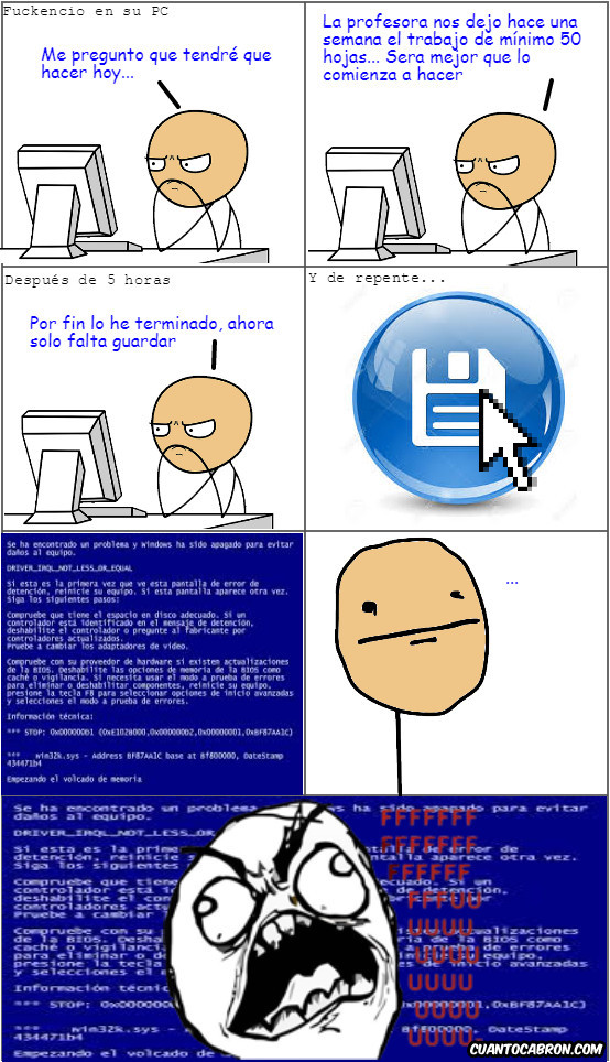Computer_guy - Cosas que no se le desean ni a tu peor enemigo