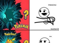Enlace a Tratando de adivinar al Pokémon