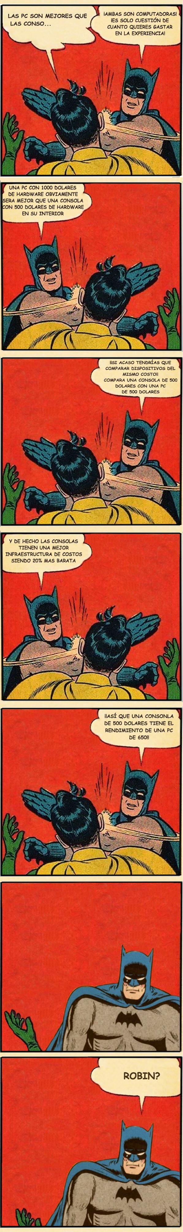 Otros - Batman le pone fin al debate