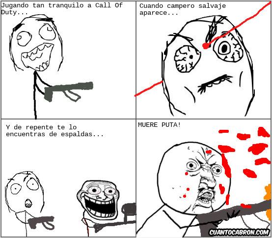 campero,COD,matar