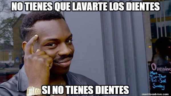 Hay_que_pensar - La pereza de lavarse los dientes