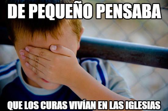 CONFFESION KID,CURAS,IGLESIA,NOVATO,PEQUEÑO