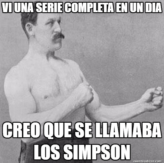 Overly_manly_man - Un gran televidente